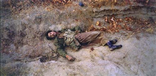 Dead Taliban Soldier by Luc Delahaye